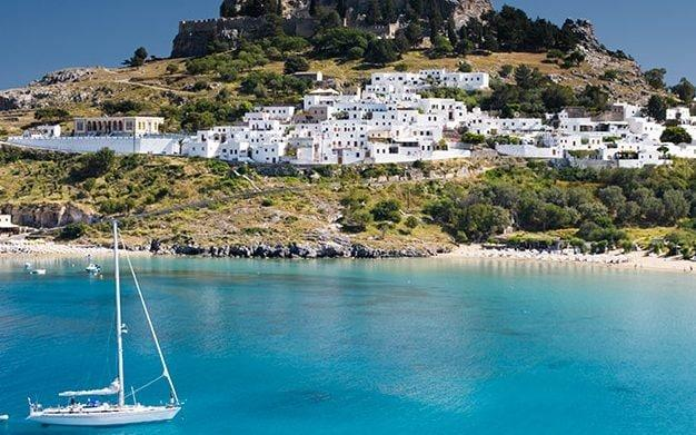 Some Greek islands are now off the cards, but Rhodes remains on the green list – for now - Getty