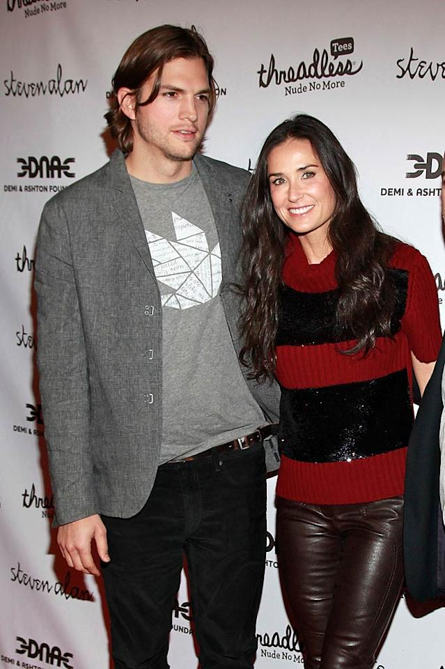 "Demi Moore and Ashton Kutcher are going to be in the family way soon, reports the <i>National Enquirer</i>. According to the magazine, the couple is ""wildly excited about adopting a baby girl from India."" Moore's maternal instincts kicked in during a recent trip there, says the <i>Enquirer</i>, and so she and Kutcher immediately ""began the [adoption] process."" For details on why they chose a baby from India, and how soon they'll have their daughter, log on to <a href=""http://www.gossipcop.com/demi-moore-adopting-baby-india-ashton-kutcher-adoption-indian-girl/"" target=""new"">Gossip Cop</a>. Charles Eshelman/<a href=""http://filmmagic.com/"" target=""new"">FilmMagic.com</a> - April 14, 2011"