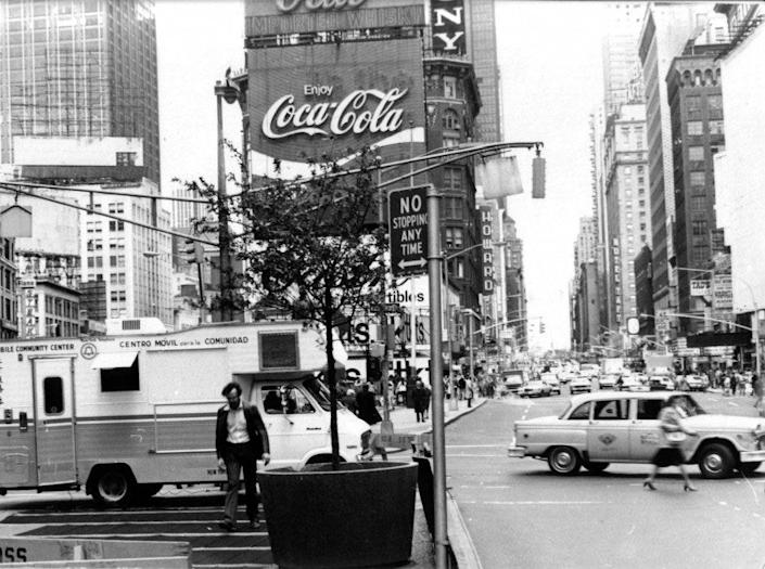 Max Neuhaus, Times Square, 197. The sound-based installation is one of six Dia sites in New York city, including the forthcoming return of Dia SoHo.