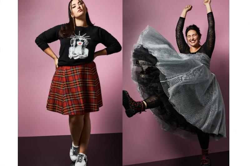 We're loving the punky vibes of this Betsey Johnson x Torrid collaboration.