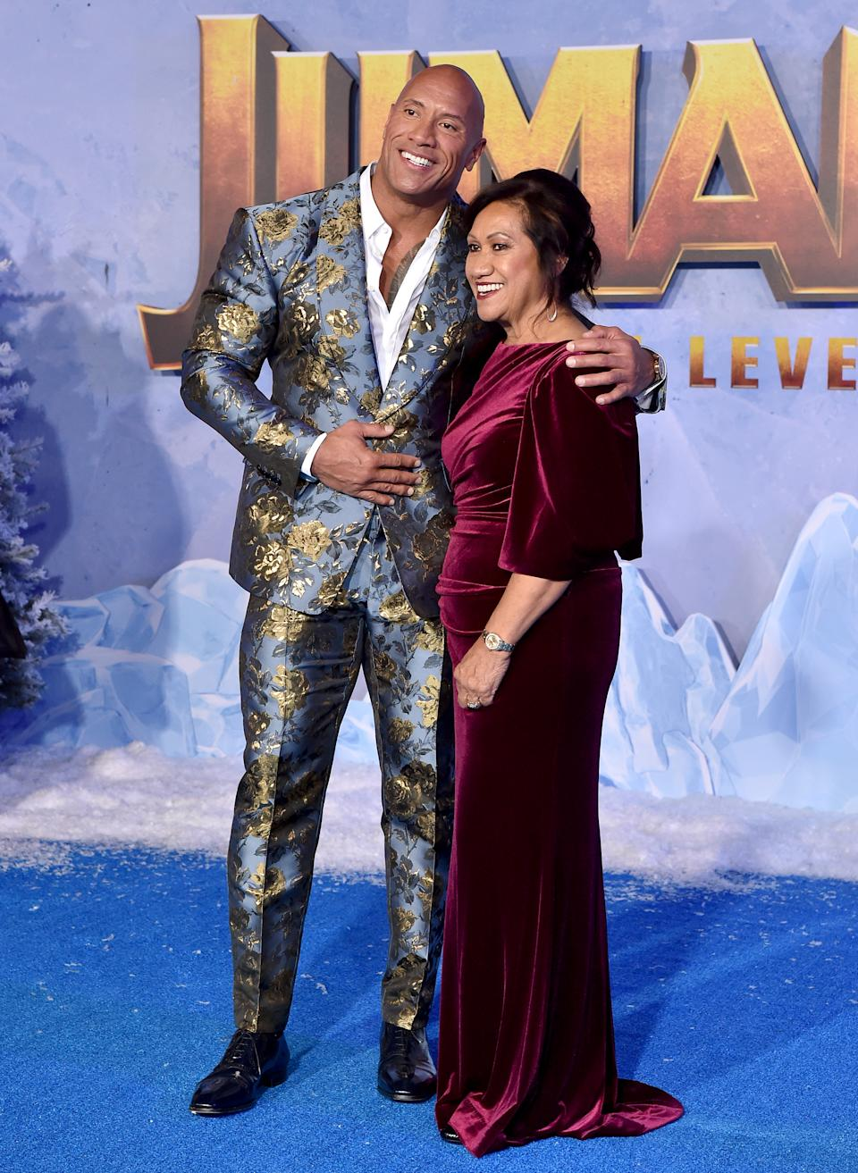He took his mum, Ata, to the premiere as well. [Photo: Getty]