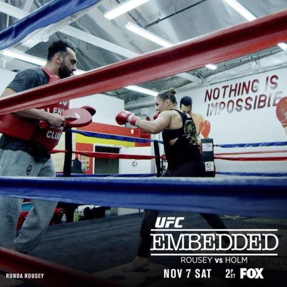 UFC 193 Embedded Gets an Upgrade, Premieres Saturday on FOX