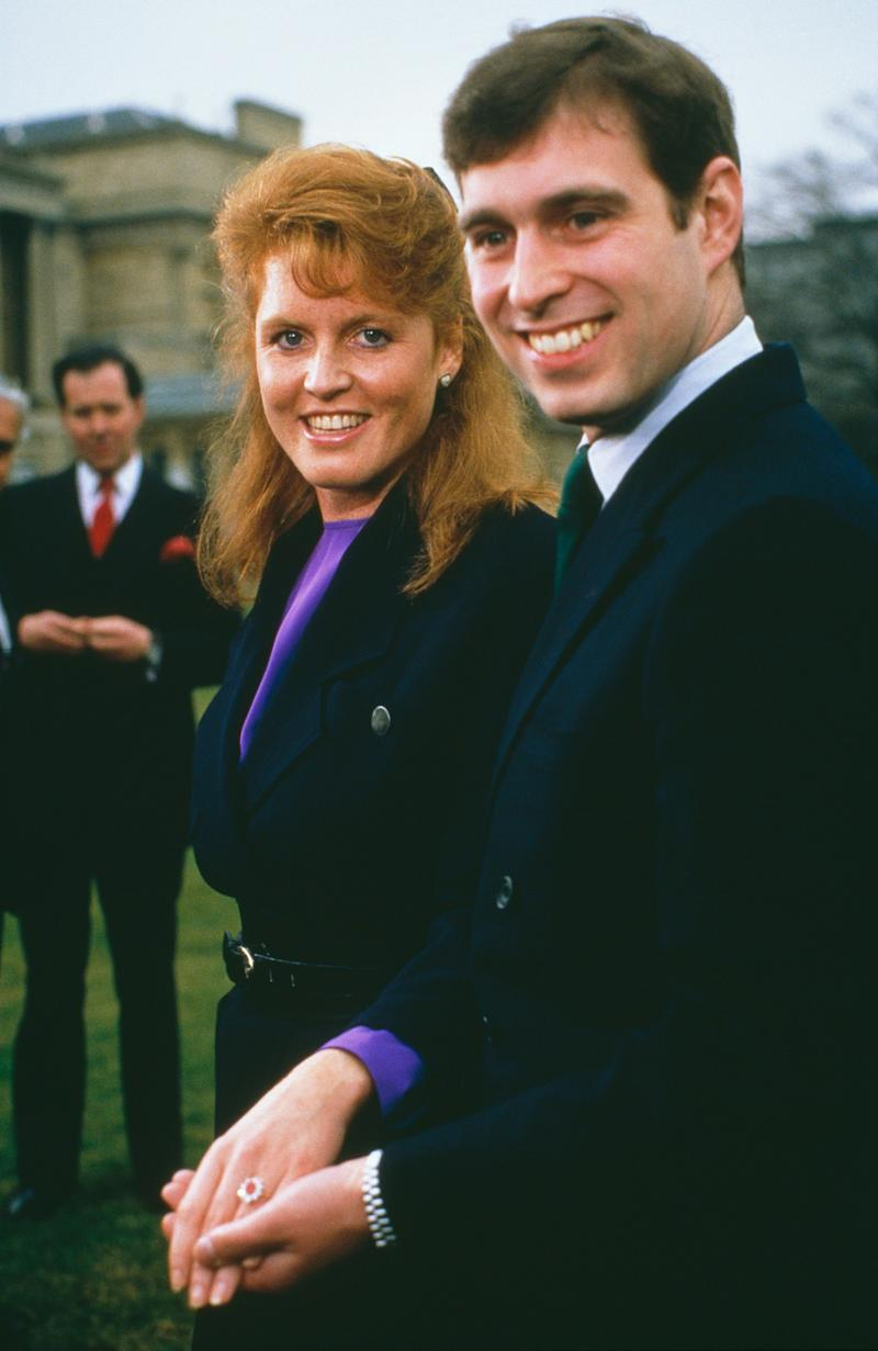 In 1986, Prince Andrew is said to have proposed to Sarah Ferguson with an oval-cut Burmese ruby from Garrard jewelers because it matched the color of her fiery red hair. Afterward, ruby rings were in high demand.