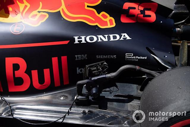 "Coche de Max Verstappen, Red Bull Racing RB15 <span class=""copyright"">Simon Galloway / Sutton Images</span>"