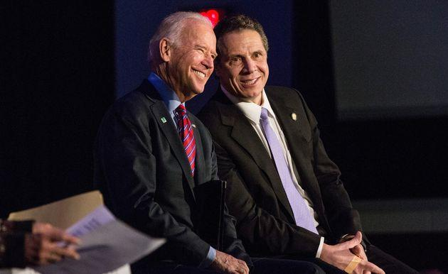 President Joe Biden commented on the explosive new report that found New York Gov. Andrew Cuomo (D) sexually harassed multiple women. (Photo: Andrew Burton/Getty Images)