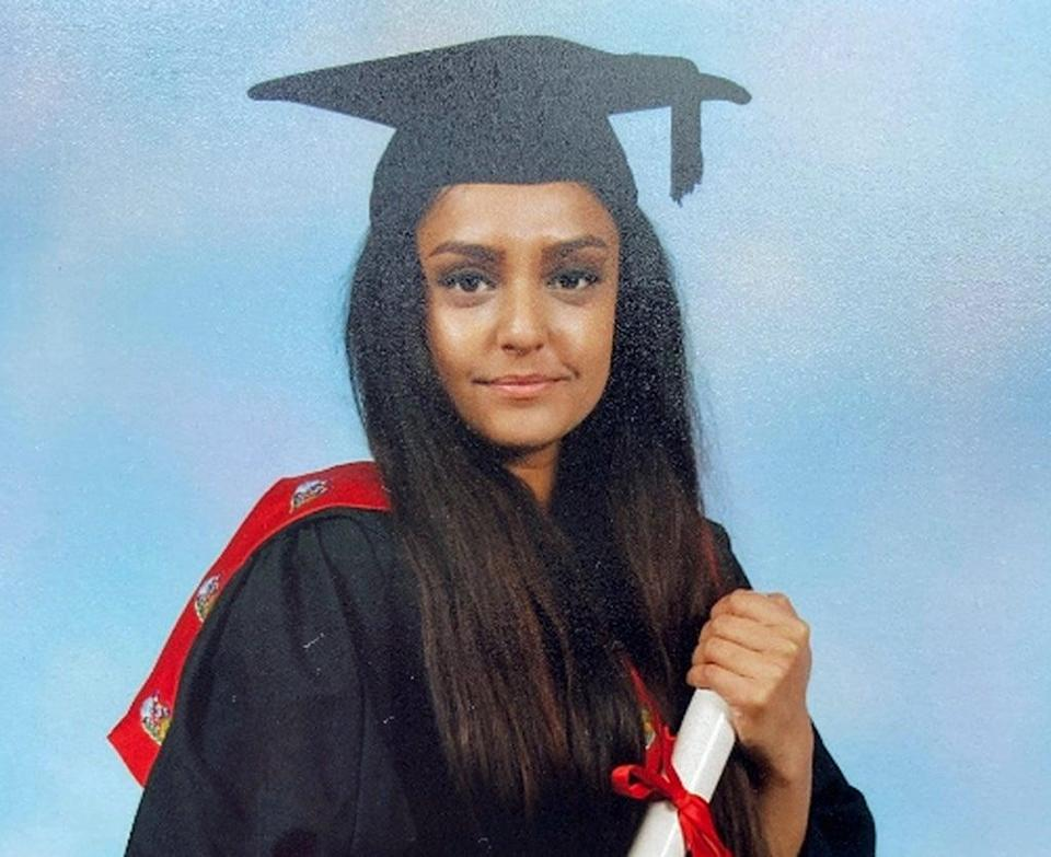 Sabina Nessa was killed as she walked through Cator Park on her way to meet a friend in Kidbrooke, south-east London on September 17 (Metropolitan Police/PA) (PA Wire)