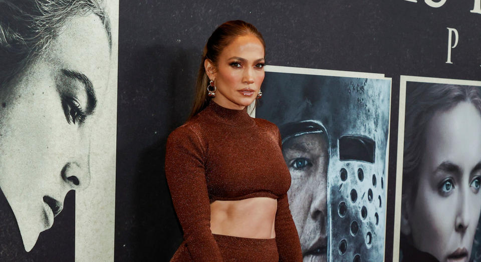 Jennifer Lopez attended The Last Duel film premiere in New York yesterday evening. (Getty Images)