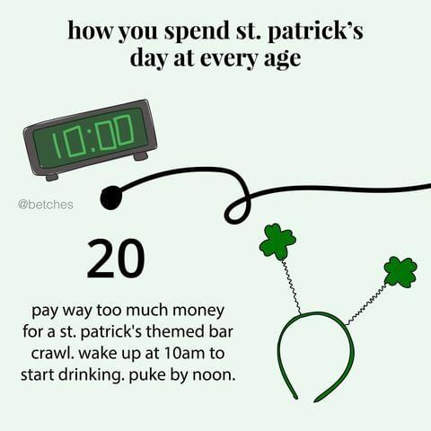 "<p>St. Patrick's Day at 30 actually sounds like a pretty awesome day. </p><p><a href=""https://www.instagram.com/p/B9twfhqHPlP/"" rel=""nofollow noopener"" target=""_blank"" data-ylk=""slk:See the original post on Instagram"" class=""link rapid-noclick-resp"">See the original post on Instagram</a></p>"