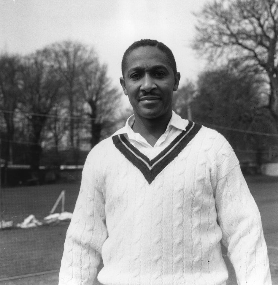 24th April 1963:  West Indian cricketer Frank Worrell, (1924 - 1967).  (Photo by Express/Express/Getty Images)