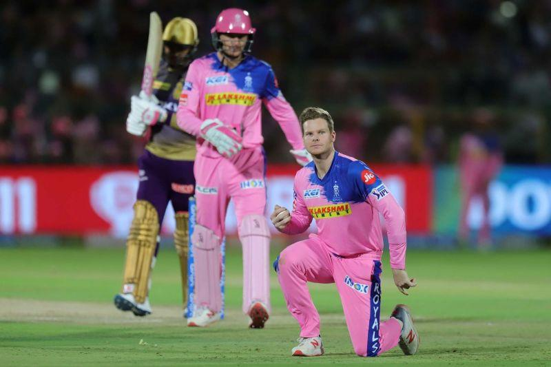 Steve Smith will be crucial for the Royals in this match. (Image Courtesy: IPLT20)