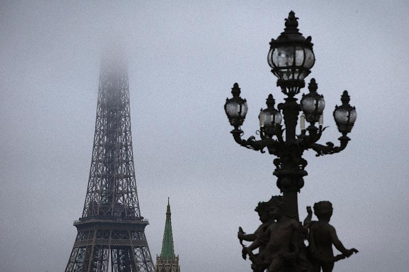 Paris is suffering its worst and most prolonged winter pollution for at least 10 years (AFP Photo/Joel Saget)