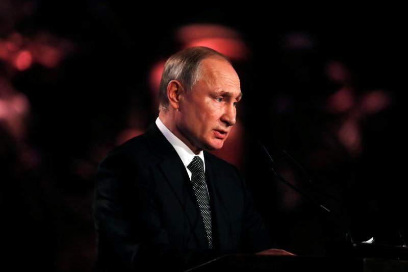 Putin proposes 2020 summit with leaders of Russia, France, China, U.S. and UK