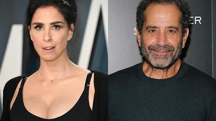 """Tony Shalhoub, who is Christian, defended playing a Jewish character in """"Marvelous Mrs. Maisel"""" after comedian Sarah Silverman recently spoke out against non-Jewish actors being cast in Jewish roles. <span class=""""copyright"""">Getty</span>"""