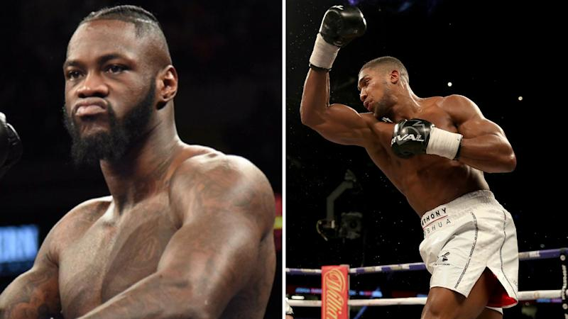 Anthony Joshua's promoter tells Wilder to 'sign the contract' after latest outburst
