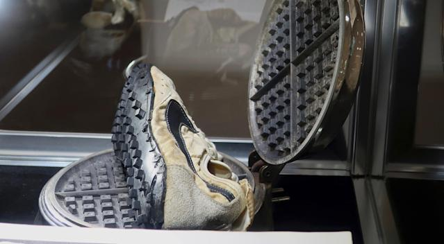 A lucrative sneaker market has inspired Sotheby's to expand its auction holdings. (AP)