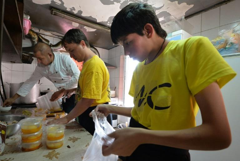 The Training Cafe in Almaty exclusively employs patients from local psychiatric institutions