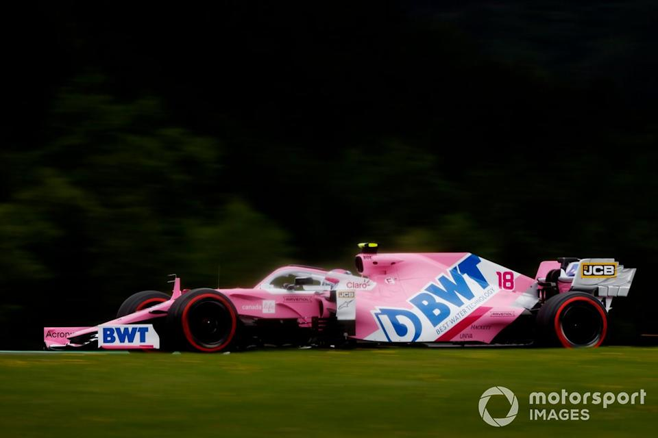 """Lance Stroll, Racing Point RP20<span class=""""copyright"""">Andy Hone / Motorsport Images</span>"""