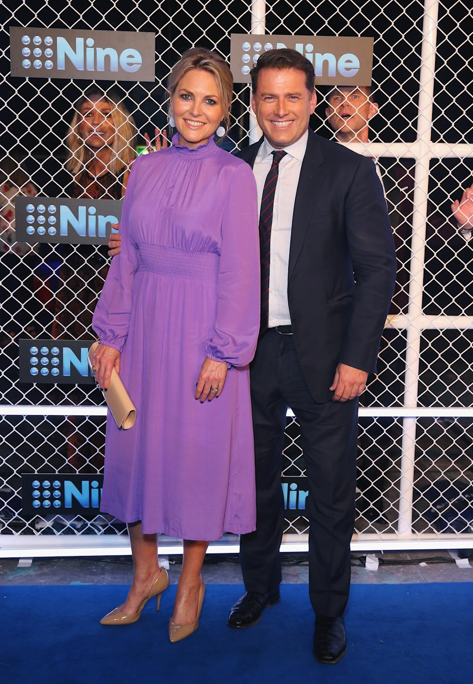 Karl was previously hosting the Today show on Channel Nine with Georgie Gardner when she took over from Lisa Wilkinson.