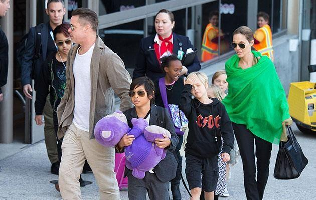 Ange has filed for sole physical custody of the couple's six children. Photo: Getty images