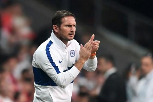 Frank Lampard fell just short of winning silverware in just his second match in charge of Chelsea