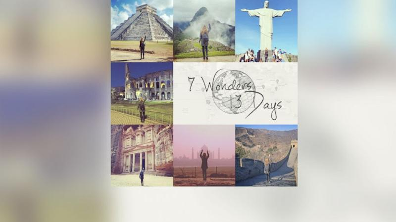California Woman's 7 Wonders of the World in 13 Days Trip Goes Viral