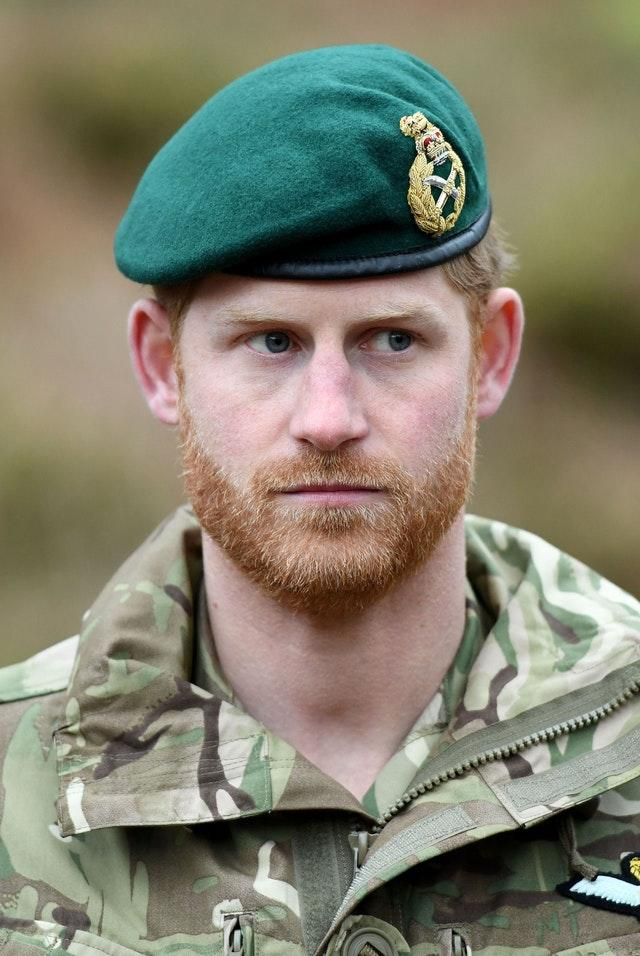Royal visit to 42 Commando Royal Marines