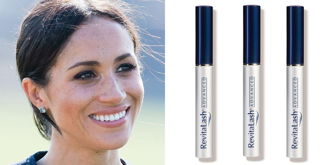 "<p>Between her glowy skin and signature nude-pink pout, the newly-minted Duchess of Sussex is already a beauty icon in her own right. As such, we've been keeping track of the <a rel=""nofollow"" href=""https://www.townandcountrymag.com/style/beauty-products/g15836983/meghan-markle-makeup-hair-beauty-products/"">products she's talked about using over the years</a>  -   and one of her favorites just so happens to be on sale this week. ""I use <a rel=""nofollow"" href=""https://shop-links.co/1646945505741109014"">Revitalash</a> on my eyelashes, and I swear they are as long as they could ever be,"" she previously told <em><a rel=""nofollow"" href=""https://www.allure.com/story/meghan-markle-suits-beauty-tips"">Allure</a></em>. </p><p>The eyelash conditioner is also favored among beauty junkies, and with good reason: it's known to make lashes longer, thicker, and stronger in just a few weeks. (I can personally vouch for its effectiveness  -  when I applied the serum nightly for two months, my lashes grew so long I had to temporarily stop using it.)  </p><p>Beyond Revitalash products, a TON of other high-end beauty brands are discounted as part of the <a rel=""nofollow"" href=""https://shop-links.co/1646945518844552020"">Dermstore anniversary sale</a>, which takes place from Aug. 10 to Aug. 19. We've rounded up a few of <a rel=""nofollow"" href=""https://www.townandcountrymag.com/style/beauty-products/g22688224/best-products-dermstore-anniversary-sale/"">our favorite deals here</a>. Make sure you use the code BIRTHDAY when you check out. </p>"