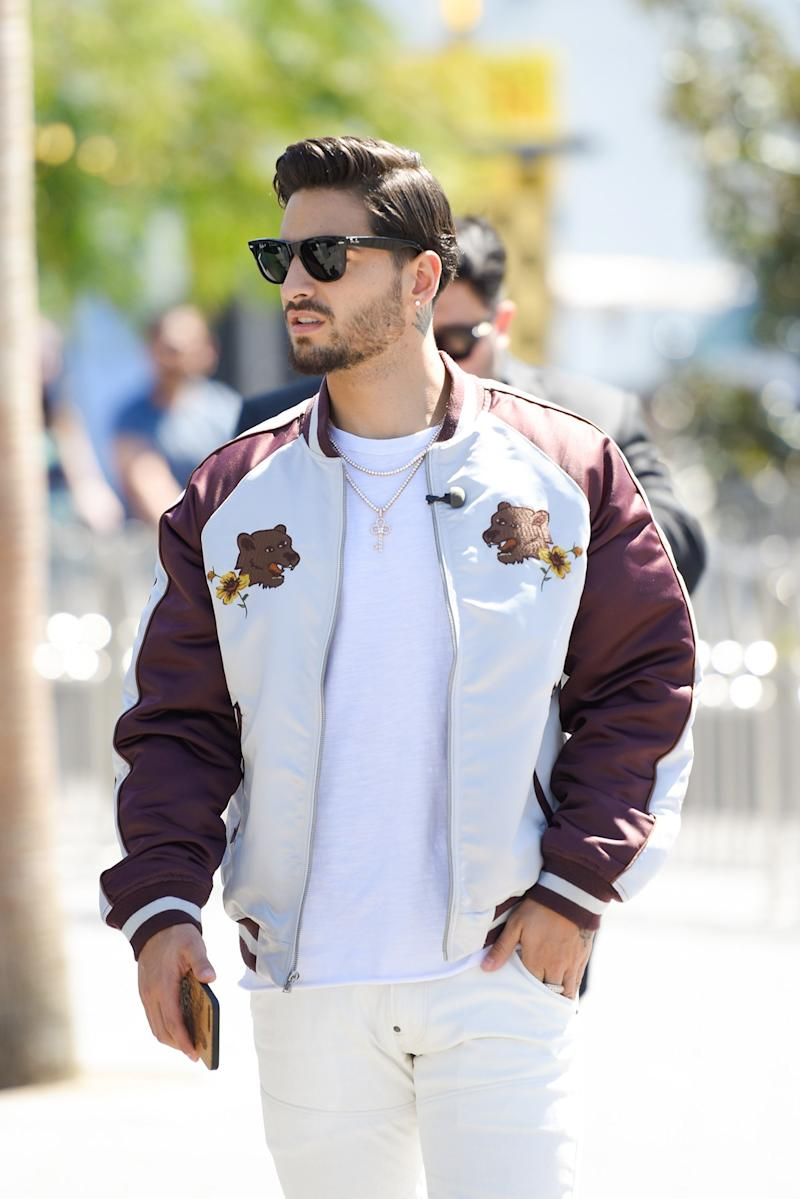 700a8b9b5cc4 Steal This Hairstyle from Maluma