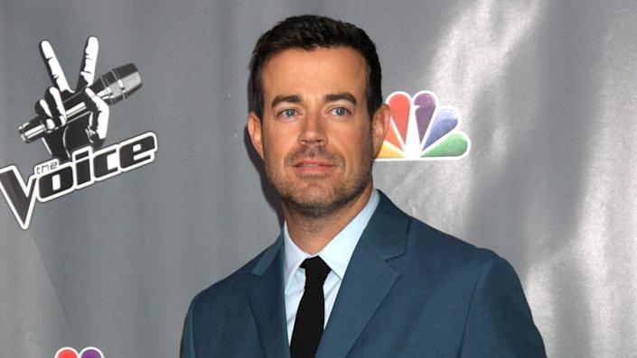 """<p>If you came of age during the early aughts, you likely regularly tuned in to watch Carson Daly host """"Total Request Live."""" Daly hosted the MTV countdown show from 1998 to 2003 and has since taken on a number of high-profile hosting gigs, including """"The Voice"""" and his own late-night talk show, """"Last Call With Carson Daly.""""</p> <p><a href=""""https://www.gobankingrates.com/net-worth/celebrities/how-rich-is-carson-daly/?utm_campaign=1118697&utm_source=yahoo.com&utm_content=9&utm_medium=rss"""" rel=""""nofollow noopener"""" target=""""_blank"""" data-ylk=""""slk:Click through to find out Daly's net worth."""" class=""""link rapid-noclick-resp"""">Click through to find out Daly's net worth.</a></p> <p><em><strong>Check Out: </strong></em><em><strong><a href=""""https://www.gobankingrates.com/net-worth/celebrities/judge-judy-richest-tv-hosts-time/?utm_campaign=1118697&utm_source=yahoo.com&utm_content=10&utm_medium=rss"""" rel=""""nofollow noopener"""" target=""""_blank"""" data-ylk=""""slk:Judge Judy and 9 of the Richest TV Hosts of All Time"""" class=""""link rapid-noclick-resp"""">Judge Judy and 9 of the Richest TV Hosts of All Time</a></strong></em></p> <p><small>Image Credits: Helga Esteb / Shutterstock.com</small></p>"""