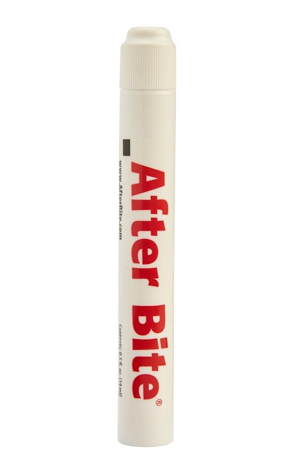 """Take this travel-friendly pen with you everywhere to stop itching instantly.  <b>Buy It!</b>After Bite Classic, $3.47; <a href=""""http://linksynergy.walmart.com/deeplink?id=93xLBvPhAeE&mid=2149&murl=https%3A%2F%2Fwww.walmart.com%2Fip%2FAfter-Bite-Itch-Eraser-0-5-Oz%2F35785584&u1=PEO%2CAllYourSummerSkinProblems%2CSolved%2Cjackiefields2014%2CUnc%2CGal%2C7085937%2C201908%2CI"""" target=""""_blank"""" rel=""""nofollow"""">walmart.com</a>"""