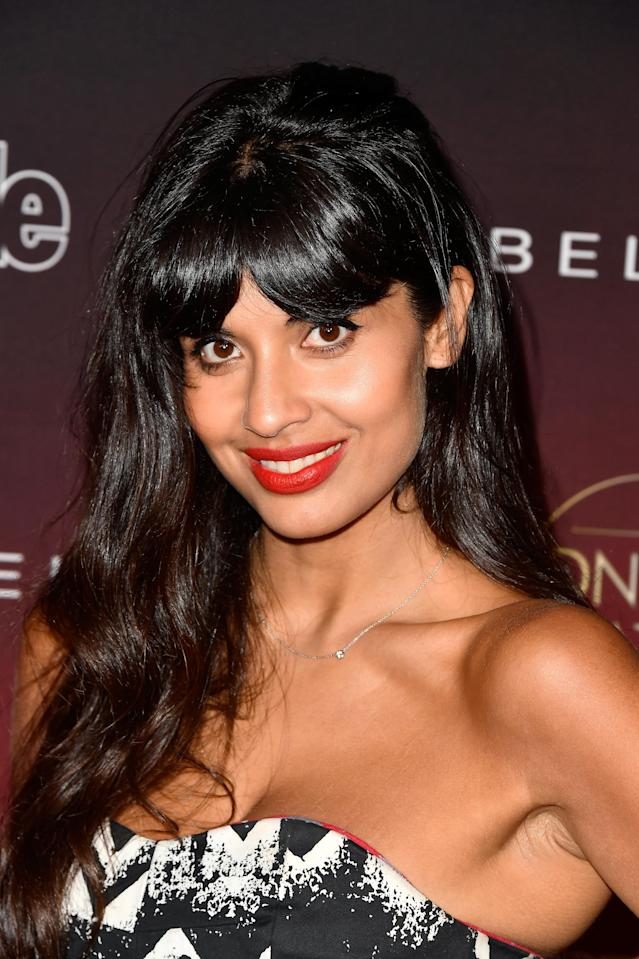 "Jameela Jamil has called out Kardashian for promoting ""low self-esteem."" (Photo: Frazer Harrison/Getty Images)"