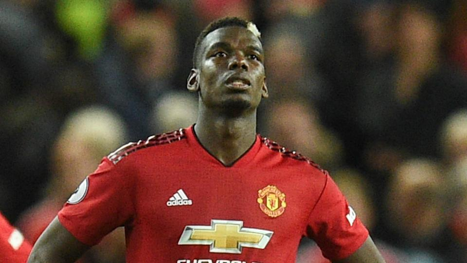 Paul Pogba hired a private chauffeur to take him from United's Carrington training ground, as just nine players boarded the team coach.