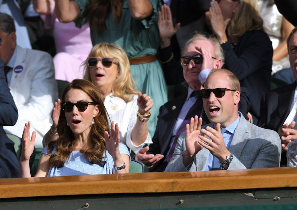 """<p>Okay, so maybe it isn't considered """"normal"""" to attend Wimbledon in the royal box. However, if their reaction is any indication, Kate and Will clearly cared about the match just as much as your average tennis fan. </p>"""