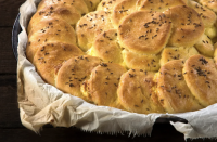 """<p>Speaking of bread, <a href=""""https://www.northernontario.travel/sunset-country/bannock-recipes-for-your-next-camping-adventure"""" rel=""""nofollow noopener"""" target=""""_blank"""" data-ylk=""""slk:Bannock"""" class=""""link rapid-noclick-resp"""">Bannock</a> could be classified as the original campfire bread. It's a traditional North American flatbread made by Indigenous families. You can choose to bake or fry bannock but either way, it's absolutely delicious and perfect served with a saucy main dish like Shakshuka.</p> <p>Bannock doesn't require any leavening agent and a basic recipe consists of only a few ingredients, which makes it a great low maintenance recipe for camping.</p> <p>You'll need a frying pan and a large bowl to combine your ingredients. The <a href=""""https://www.canadiantire.ca/en/pdp/woods-viand-camp-pot-set-4-pc-0765981p.html?utm_source=vrz&utm_medium=display&utm_campaign=10009368_21_CTS_JNJ_SUMMER&utm_content=10009368_21_CTS_JNJ_SUMMER_EN_VRZ_CONS_DB_CAN_UTM_1x1_Hyperlink%20-%20Outdoor%20Adventures"""" rel=""""nofollow noopener"""" target=""""_blank"""" data-ylk=""""slk:Woods™ Viand Camp Pot Set, 4-pc"""" class=""""link rapid-noclick-resp"""">Woods™ Viand Camp Pot Set, 4-pc</a> is a great outdoor cooking set that includes three heavy gauge stainless steel pots and a frying pan. One of the pots can do double duty as a mixing bowl for this recipe.</p>"""