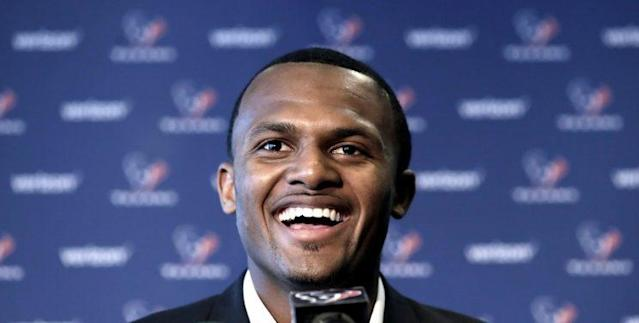 Deshaun Watson said he'll be ready for whatever the Texans need from him this season. (AP)