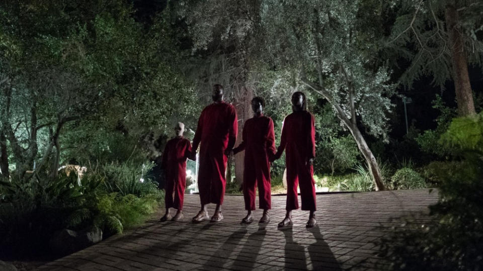 Jordan Peele broke into the world of horror in a big way with one of the best movies of the entire decade in <em>Get Out</em>. His doppelganger-themed follow-up, <em>Us</em>, is even more packed with ideas and sees Lupita Nyong'o give a double performance of extraordinary depth that might well trouble the awards ceremonies. Maybe they'll nominate her twice. (Credit: Universal)