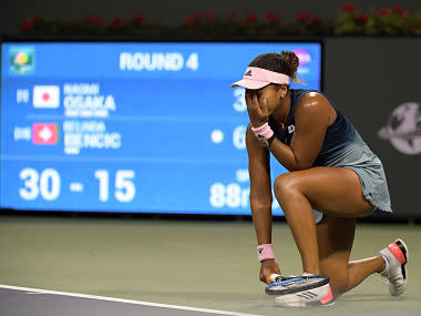 Indian Wells Open: World No 1 Naomi Osaka dumped out by Belinda Bencic, Simona Halep also crashes out