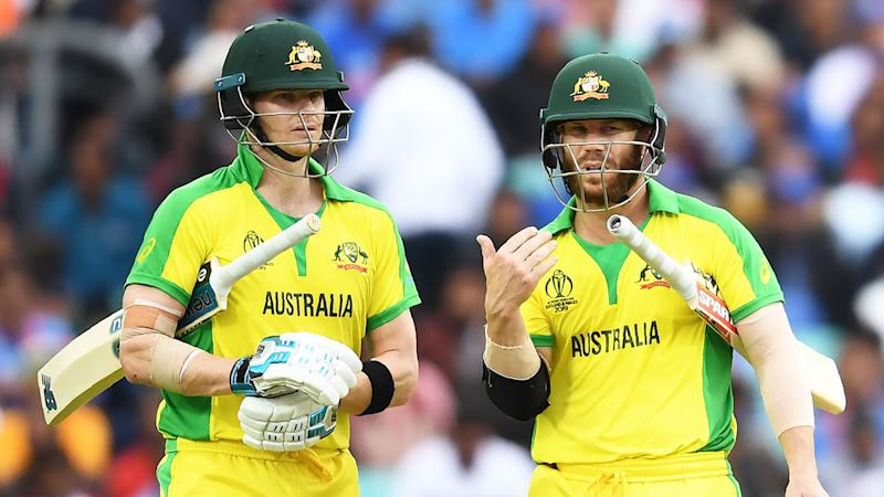 Steve Smith and David Warner have been booed by fans at the World Cup. Pic: Getty