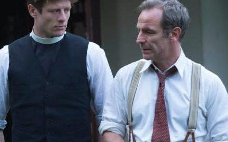 James Norton and Robson Green in Grantchester - Credit: ITV