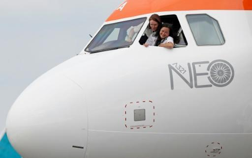 EasyJet wants 20 percent of its new cadet pilots to be women by 2020