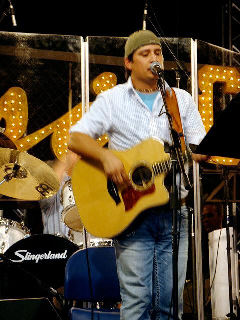 "As soon they arrive at the soundstage for rehearsals, Gabe straps on his guitar and immediately begins working with the show's vocal coach, David Coury, and music supervisor, Charlie Judge. Gabe admits the experience has been a little weird for him since he's never actually worked with a professional vocal coach prior to being on the show. The trio goes through the process of cutting his two songs -- ""Celebrity"" by Brad Paisley and ""Gone Country"" by Alan Jackson -- shorter due to time constraints, aiming to make sure the truncated songs still make sense to the audience. David seriously suggests that Gabe add a ""Yee-haw!"" at the end of one of the songs, but Gabe's not too psyched about the idea. ""David tries to get me to do stuff like that all the time. He even jokingly offers to pay us to do it, but when I'm not comfortable doing something, he's cool with it,"" says Gabe. Despite this minor disagreement, David's vocal suggestions are usually right on target, including when he encouraged Gabe to do a falsetto number. ""I've never done a falsetto in my life,"" Gabe admits. ""So David brought out something new that I thought I never could even do and I did it."""