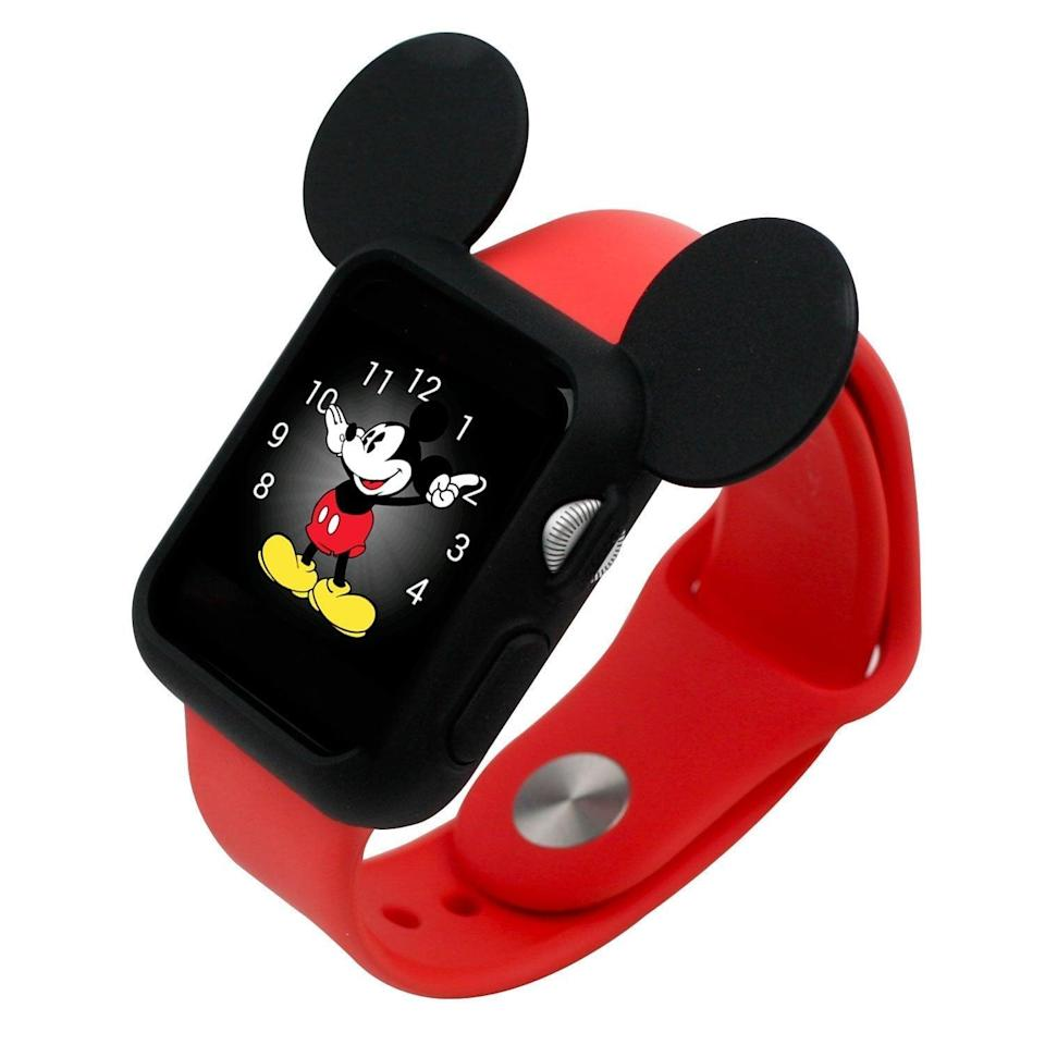 <p>This <span>Silicone Mickey Mouse Ears Apple Watch Case</span> ($8) is downright adorable.</p>