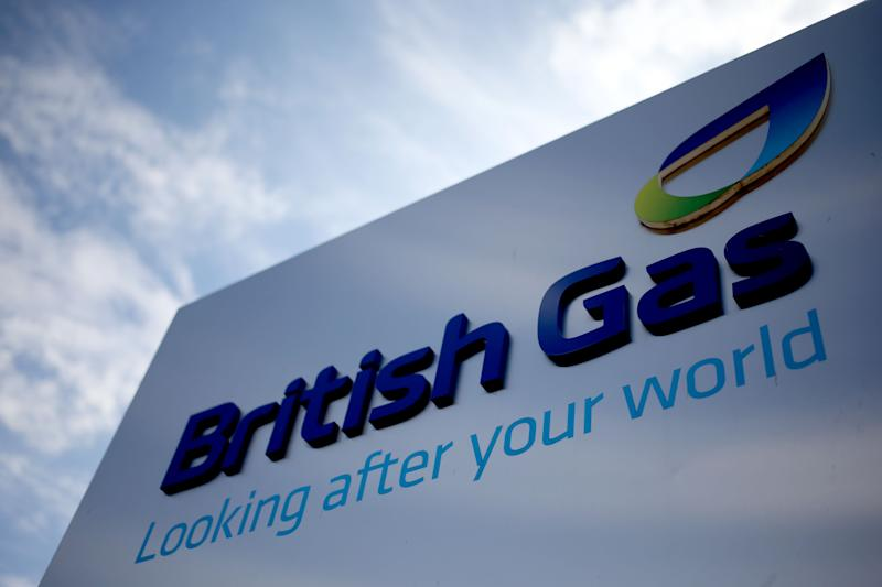 File photo dated 08/08/13 of British Gas sign. British Gas has ordered 1,000 electric vans for its engineers, in what it says is the largest order of battery powered vehicles for a commercial fleet in the UK.