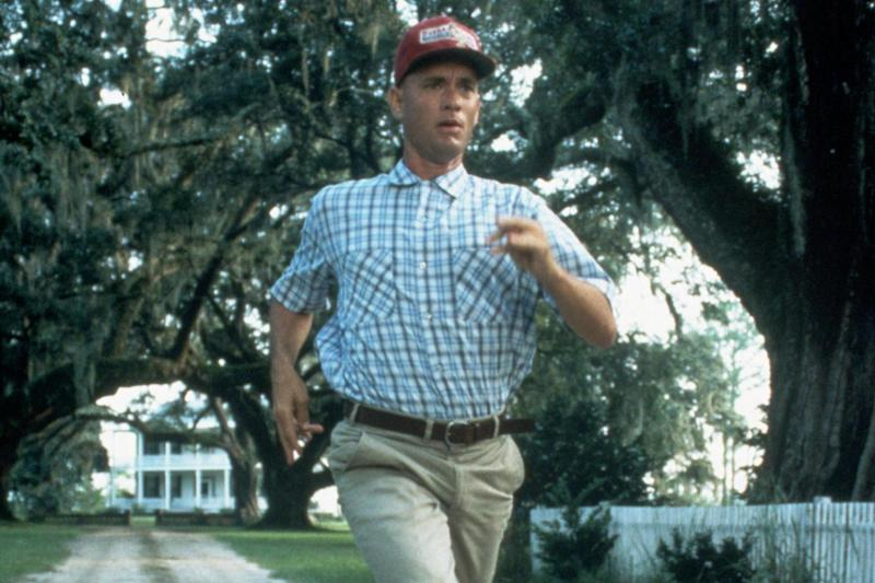 Tom Hanks helped pay for the iconic running scene in 'Forrest Gump' after Paramount refused to fund it (Rex Features)