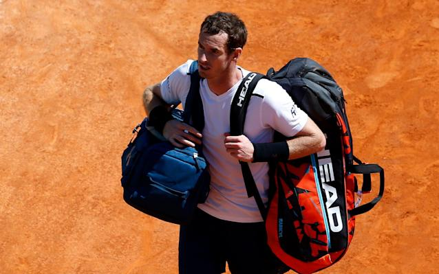Andy Murray suffered an early exit in Monte Carlo - EPA