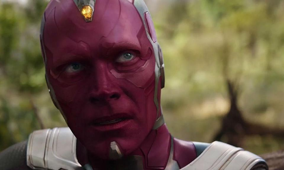 <p><span><strong>Played by:</strong> Paul Bettany</span><br><strong>Last appearance: </strong><i><span>Captain America: Civil War</span></i><br><span><strong>What's he up to?</strong> Feeling guilty for causing War Machine's spinal injury, Vision spends much of his time monitorying his recovery and spending time alone at the New Avengers Facility. After Cap frees Wanda from the Raft, he joins her in Europe to start a new life together.</span> </p>