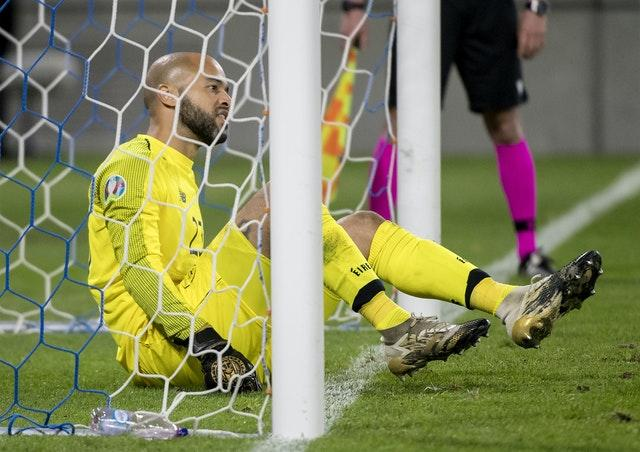 Republic of Ireland goalkeeper Darren Randolph did not concede in 120 minutes of football in Bratislava