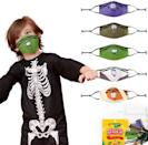 <p>The <span>Crayola Halloween Tip Faces Reusable Cloth Kids Face Mask Set</span> ($24, originally $30) features cute smiley faces with spooky details, which are perfect for little ones.</p>