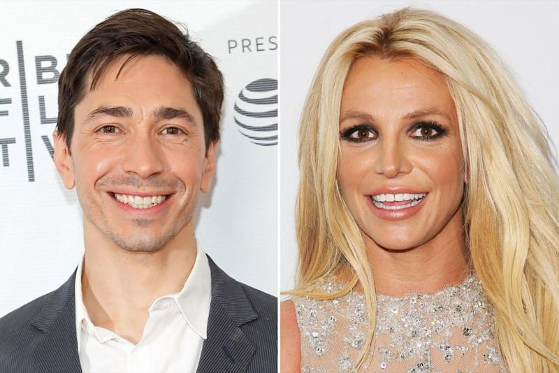 Justin Long; Britney Spears | Taylor Hill/FilmMagic; Axelle/Bauer-Griffin/FilmMagic