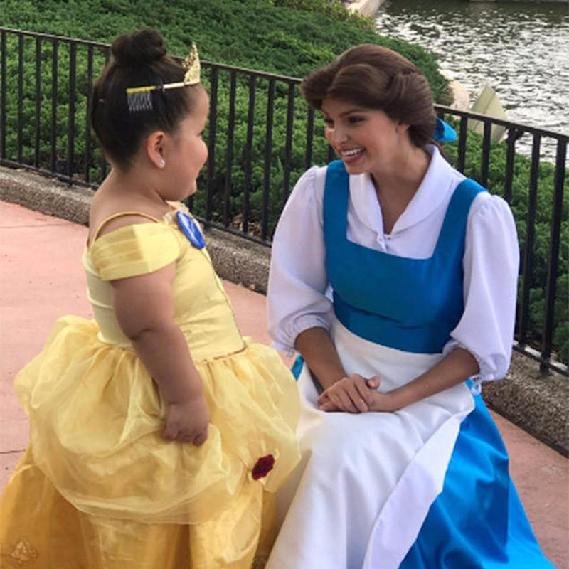 How Belle Made 1 Girl's Dreams Come True Is Pure Disney Magic